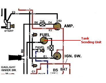 ford fuel sending unit wiring 1  1